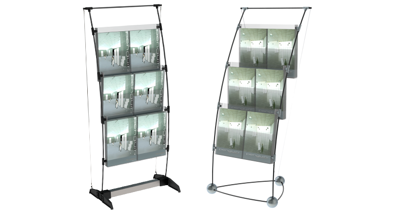 penguin brochure racks